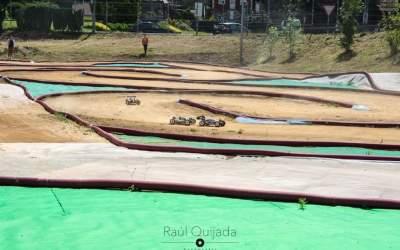 El circuito TT del Club Mieres, listo para albergar pruebas de 1/10 y 1/8