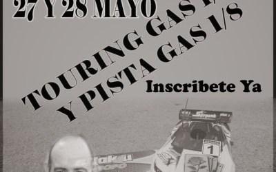 27 y 28 de Mayo - I Memorial Joaquin Rosa. Touring Gas 1/10 y pista gas 1/8