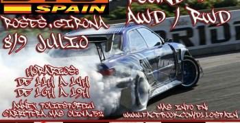 8 y 9 de Julio - Tercer Round del Campeonato de España de Drift D1-10 Series