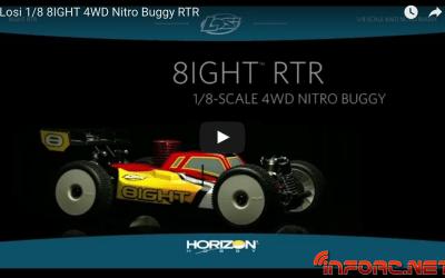 Oferta en Modelspain - Losi 8IGHT Nitro RTR 1/8 4WD