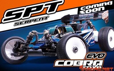 Serpent Cobra SRX8-EVO, próximamente