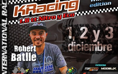 Robert Batlle confirmado para la KRacing Winter Edition La Nucia
