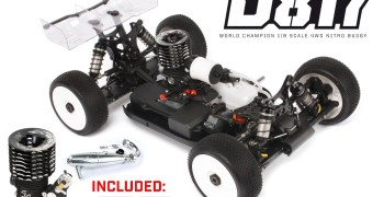 HB Racing presenta su combo World Champion del D817