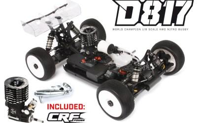 HB Racing presenta su combo World Champion del D817