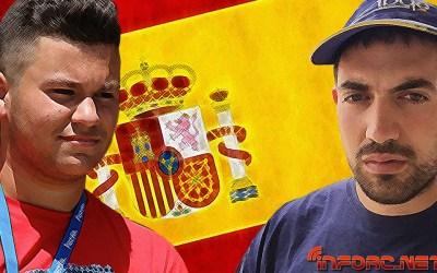 Este finde Juan Carlos Guerrero y Ruben Vela se juegan el Nacional B. Horarios de entrenos.
