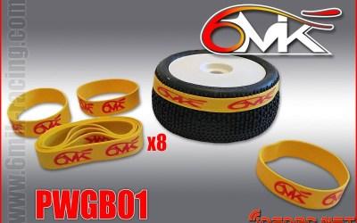 Bandas de goma para pegar ruedas de 6Mik, ya en Summum Brothers