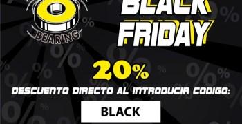 Ministry of Bearing se adelanta al Black Friday. 20% de descuento en tus compras.