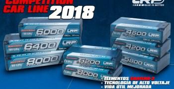LRP Presenta su nueva línea de baterías para 2018