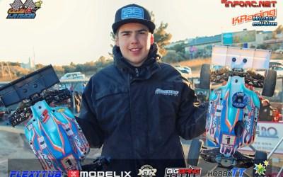 Davide Ongaro poleman absoluto en la Winter Edition. Tabla de marcas Top 16 nitro.