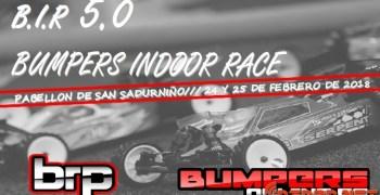 24 y 25 de Febrero, vuelve la Bumpers Indoor Race en su edición 2018