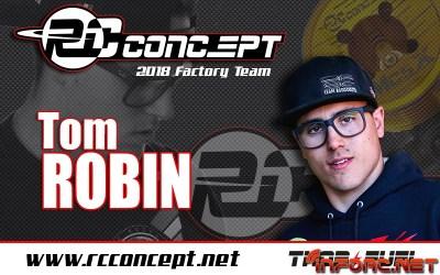 Tom Robin ficha por RC Concept para 2018