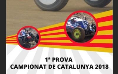 17y 18 de Febrero - Comienza el Campeonato de Cataluña 1/8 TT nitro y eléctrico