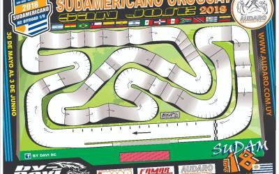 Sudamericano 2018 - Ya está listo el diseño del nuevo trazado