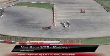 Neo 18 - Video de la Q1 con el Top 3; Batlle, Canas y Boots