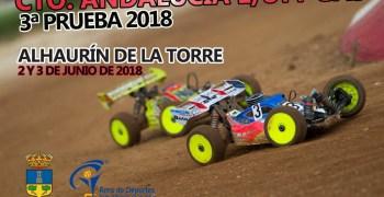2 y 3 de Junio - Tercera prueba Camp. Andalucía 1/8 TT Gas 2018. Alhaurín de la Torre