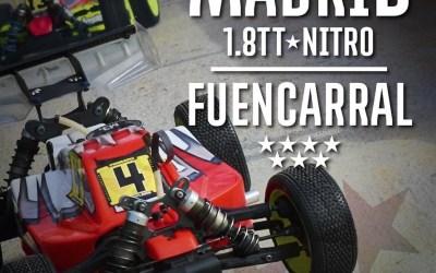 19 y 20 de Mayo - Comienza el Campeonato de Madrid 1/8 TT Gas 2018 en Fuencarral