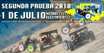 1 de Julio - Segunda prueba Campeonato de Málaga 1/8 TT en Alhaurín de la Torre. Incluye video.