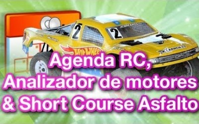 Video TRP - Analizador de motores y short course asfalto