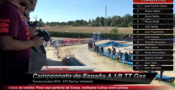Video - Final completa del Nacional A 1/8 TT Gas 2018 comentada con Robert Batlle