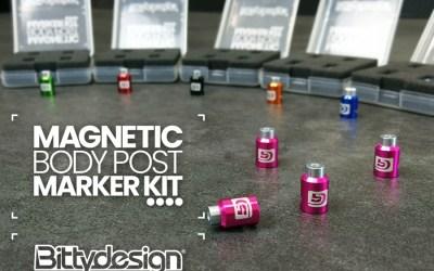 Perfora con facilidad tus carrocerías con los marcadores magnéticos de Bittydesign. Incluye video