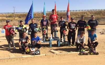 Carlos Cano Campeón de España B 1/8 TT Gas 2018
