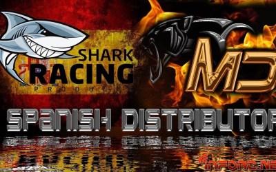 Shark Racing Products, nuevo distribuidor para España y Portugal de MD Racing