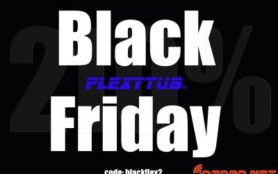 Black Friday en Flexytub con un 20% de descuento en todas tus compras