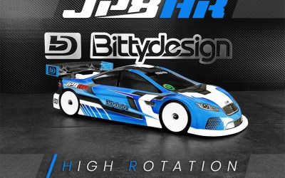 Bittydesign presenta la JP8HR 1/10 190mm TC