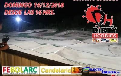 Bolivia - Copa nocturna en Candelaria RC Pro el Domingo 16 de Diciembre