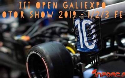 1 al 3 de Febrero - III OPEN Galiexpo Motor Show 2019