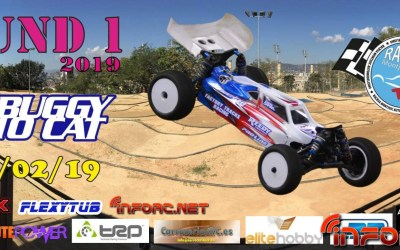 24 de Febrero - Round 1 de RC Buggy 1/10 Cat
