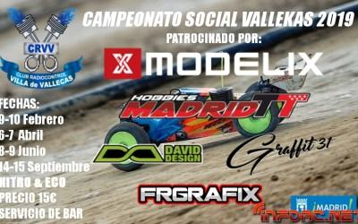 9 y 10 de Febrero - Comienza el Campeonato en CRVV Vallecas, Madrid