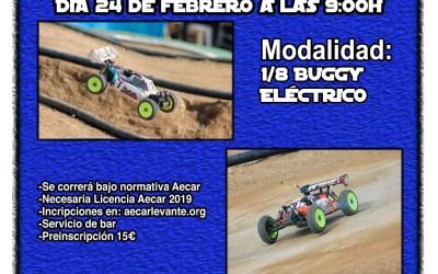 24 de Febrero - Primera carrera social RC Silla 1/8 TT Electrico