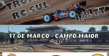 Portugal - 17 de Marzo, primera prueba Trofeo RC Sul 1/8 TT