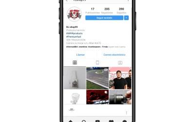 RC Shop 99 ahora en Instagram