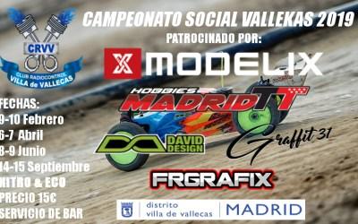 6 y7 de Abril - Segunda prueba del campeonato social Vallekas 2019 1/8 TT