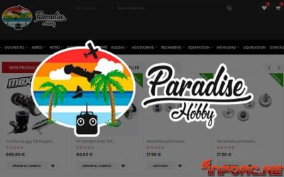 Paradise Hobby Shop, nuevo colaborador de infoRC ¡Bienvenidos al equipo!