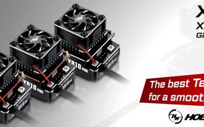 Hobbywing presenta sus nuevos variadores XR10 Pro G2