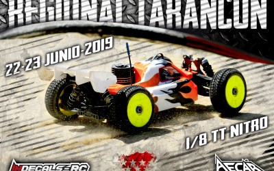 22 y 23 de Junio - Cuarta prueba regional de Madrid 1/8 TT Gas 2019