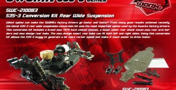SWorkz presenta su kit de suspensión trasera ensanchada para S35-3