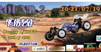 20 y 21 de Julio - Tercera prueba Campeonato Buggy 1/10TT Cat 2019