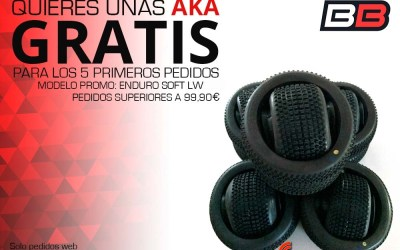 ¡AKA gratis en Big Bang Hobbies...otra vez!