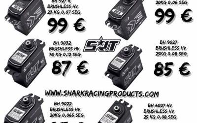 Oferta Shark Racing en servos SRT