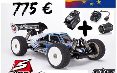 Oferta - Combo de coche eléctrico con motivo del Euro 1/8 TT-E en España