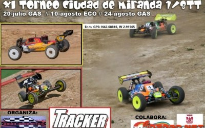 10 de Agosto - XI Torneo Ciudad de Miranda 1/8TT ECO