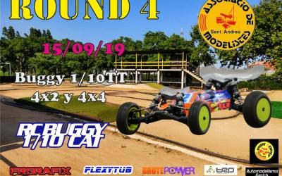 14 y 15 de Septiembre - 4ª carrera del Campeonato Buggy 1/10TT Cat 2019