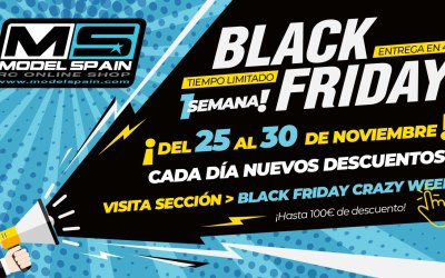 Black Friday 2019 en Modelspain