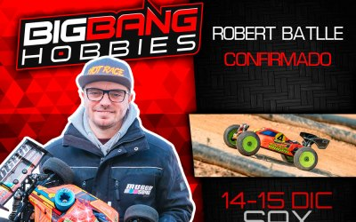 Robert Batlle confirmado para la Big Bang Race en Sax