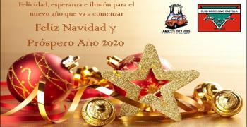 El Club Modelismo Castilla os desea felices fiestas