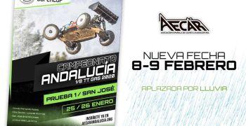8 y 9 de Febrero - Primera prueba del Campeonato de Andalucia 1/8 TT Gas 2020